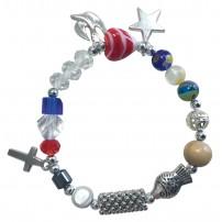 Bracelet avec perles « La vie de Jésus » pour adulte