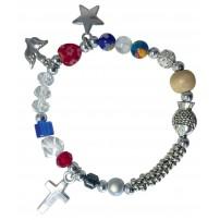 Bracelet avec perles « La vie de Jésus » pour enfant