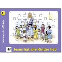 Mini-puzzle « Jésus aime tous les enfants »
