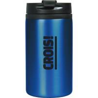 Mug isotherme acier inoxidable bleu « Crois ! »