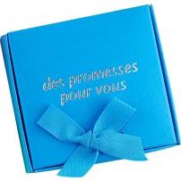 Coffret 60 versets boite bleu ciel