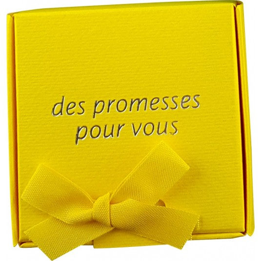 Coffret 60 versets boite jaune