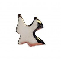 Pin's colombe argent