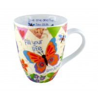 "Tasse ""Fill Your Life With Love"""