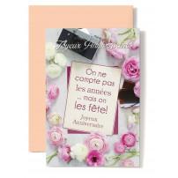 CARNET HA : Fleurs blanches et roses(on ne compte...)