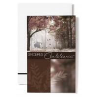 Mignonette Feuilles dessinées, forêt en automne