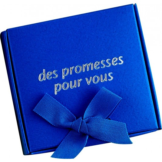 Coffret 60 versets boite bleu foncé