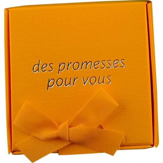 Coffret 60 versets boite orange