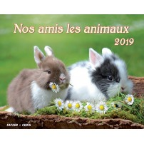 CAL. 2019 Nos amis les animaux