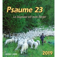 CAL. 2019 Psaume 23 petit format