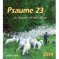 CAL. 2019 Psaume 23 Grand Format