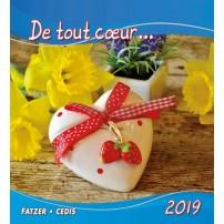CAL. 2019 De tout coeur