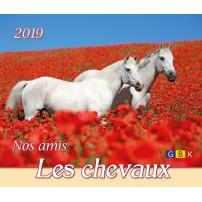 CAL.GBK 2019 Nos amis les chevaux/les chiens PF