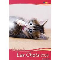 CAL.GBK 2019 Nos amis les chats/les oiseaux GF