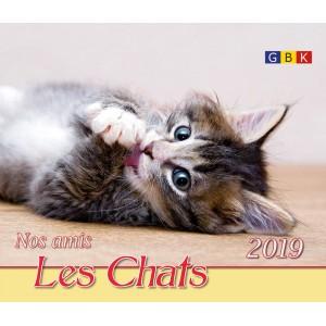 CAL.GBK 2019 Nos amis les chats/les oiseaux PF
