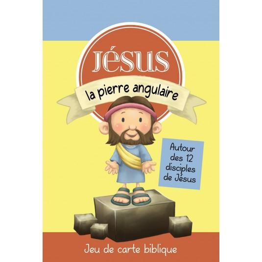 Jeu de cartes Jésus la pierre angulaire