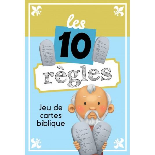 Jeu de cartes Les 10 règles : Les 10 commandements