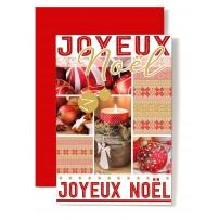 CARNET FA :JN Décorations Noël, gateaux, pomme, bougie