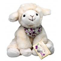 Peluche mouton Lea assise