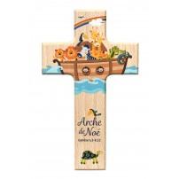 Croix en bois Arche de Noé