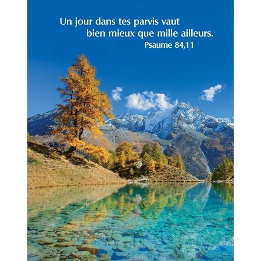 Poster Lac de montagne
