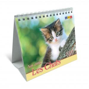 CAL.GBK 2020 Nos amis les chats/les oiseaux PF