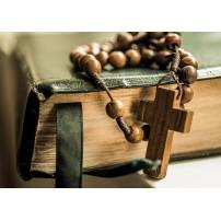 CARTE ST : Bible et chapelet