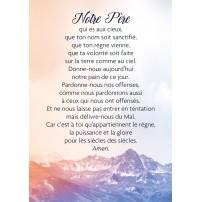 CARTE TEXTE : Notre Père (Montagnes)