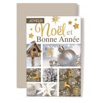 CARNET FA : JNBA : Décorations de Noël et nichoir