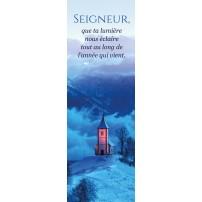SIGNET : Chapelle en montagne l'hiver