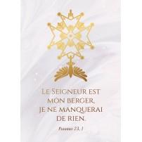CARTE VB : Croix Huguenote