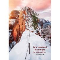 CARTE VB : Montagne enneigés