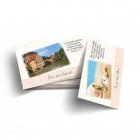 Lot de 100 mini-cartes Dieu est amour