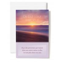 CARNET SC : Coucher de soleil sur la mer
