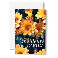 CARNET : Massif de fleurs jaunes