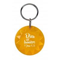 Porte-clé soleil orange