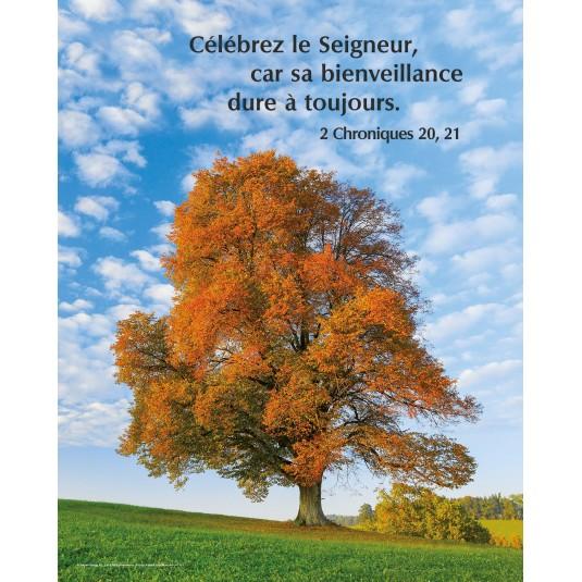 Poster Arbre en automne