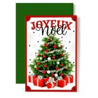 CARNET FA : Sapin et cadeaux de Noël