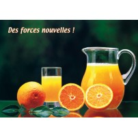 Carte Double Jus d'oranges