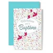 Carte Double Bapt