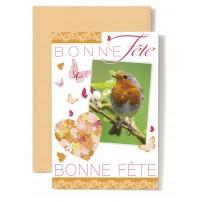 Carte Double Bonne F