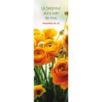 Signet Bouquet de renoncules oranges