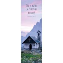 Signet Chapelle avec clocher en montagne