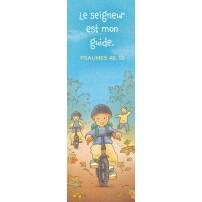 Signet Dessin d'enfants faisant du vélo