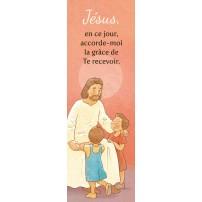 Signet Dessin de Jésus parlant à des enfants