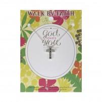 """Collier avec pendentif croix """"Faith"""""""
