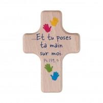 Mini-croix empreintes mains