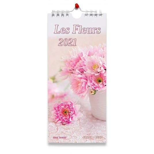 Fleurs sans textes - Calendrier 2021